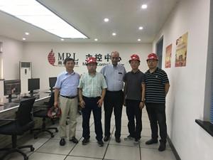 安塞乐米塔尔钢铁公司采购经理访问奥鞍公司</a>